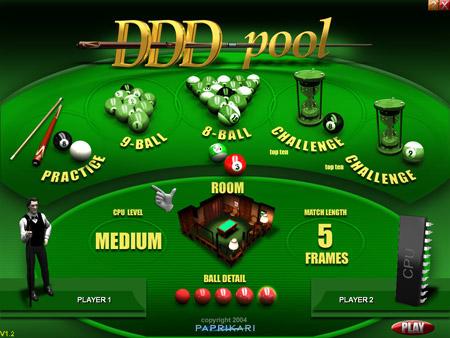 لعبة بلياردو ثلاثية الابعاد 2011 Ddd_pool_menu