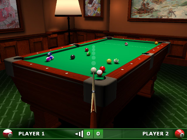 Highly addictive pool simulation with cutting edge 3D graphics & smooth gameplay